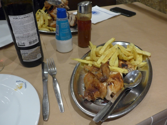Chicken at Pedro dos Frangos, Porto