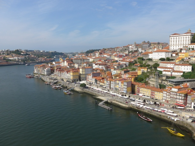 Duoro River and Ribeira, Porto