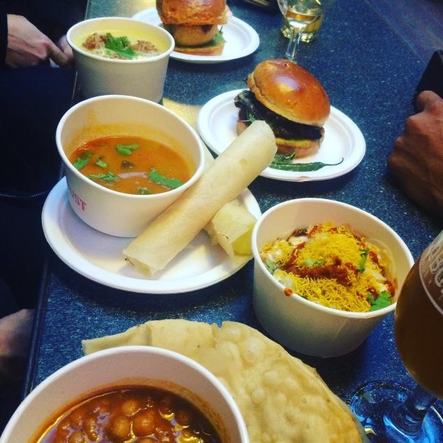 Street food at Bundobust, Leeds