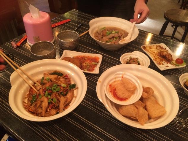 Food at My Thai, Leeds