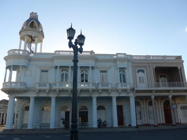 Ferrer Palace in Cienfuegos, Cuba