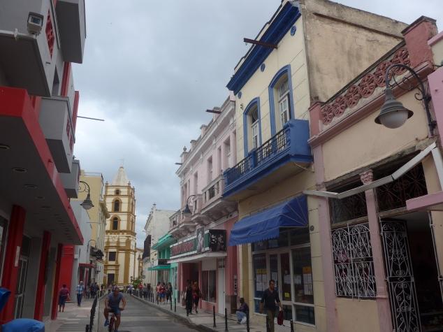 Street in Camaguey, Cuba