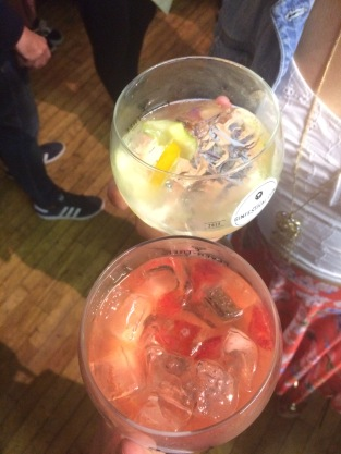 Fruit gins at Leeds Gin Festival 2017