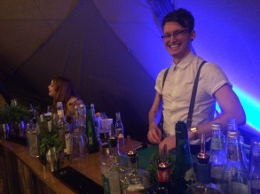 Yorkshire Tent at Leeds Gin Festival 2017