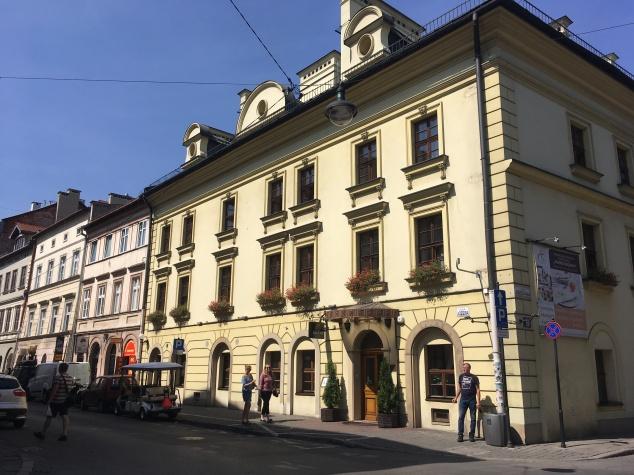 Street in Kazimierz