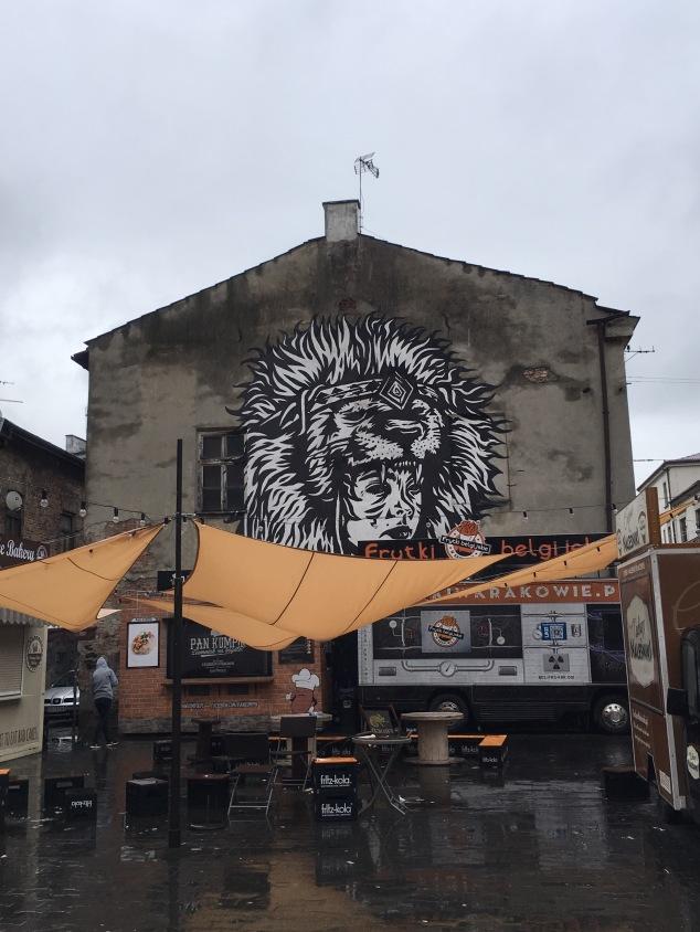 Judah street art mural, Krakow