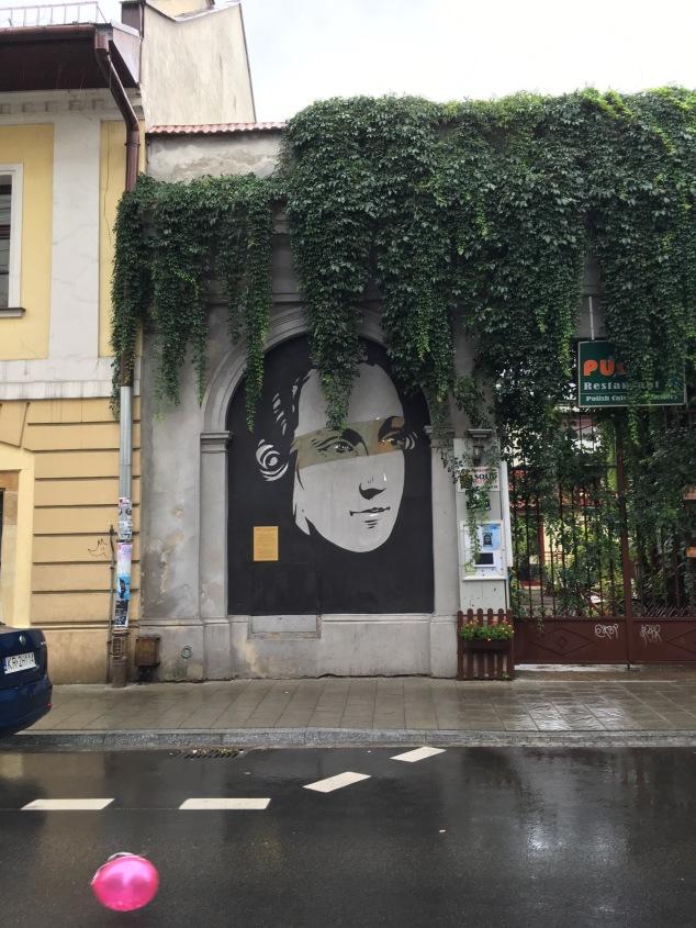 Kazimierz Historical Murals, Krakow street art