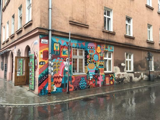 Street art tour in Kazimierz, Krakow