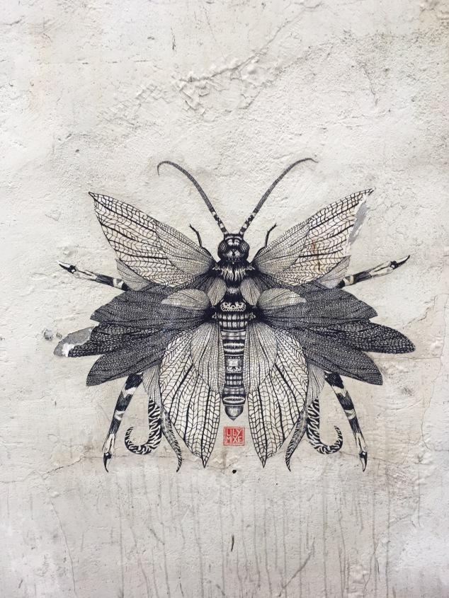 Street art mural, Krakow