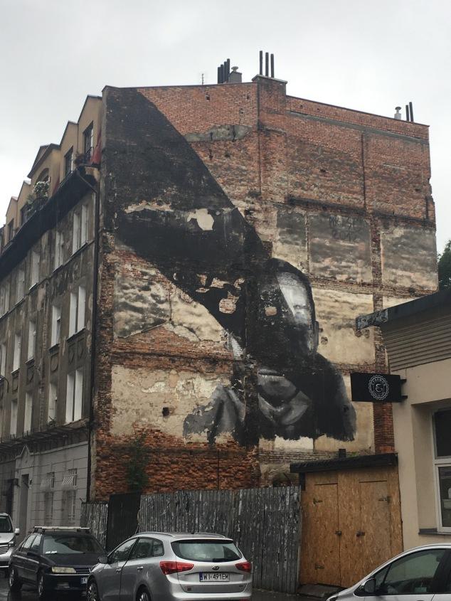Pikaso street art mural, Krakow