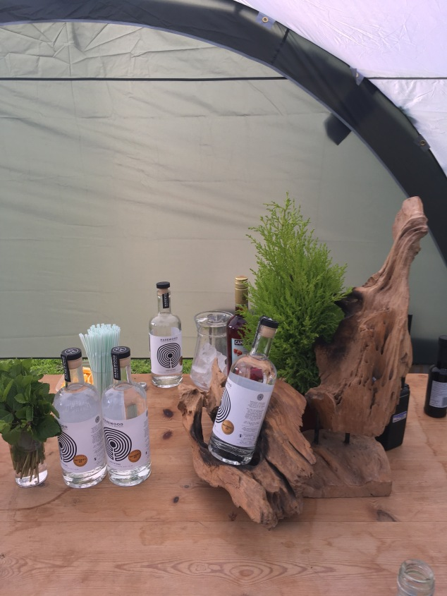 Harewood Gin at Hidden Harewood